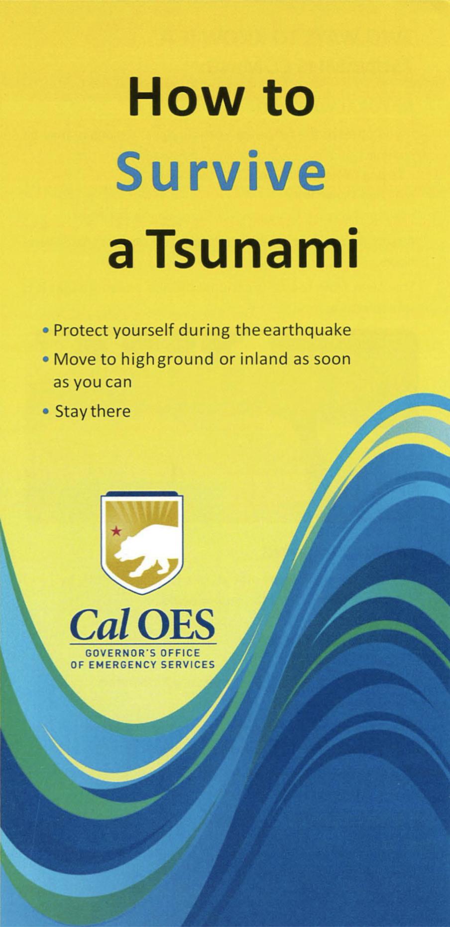 Cal OES Tsunami Brochure