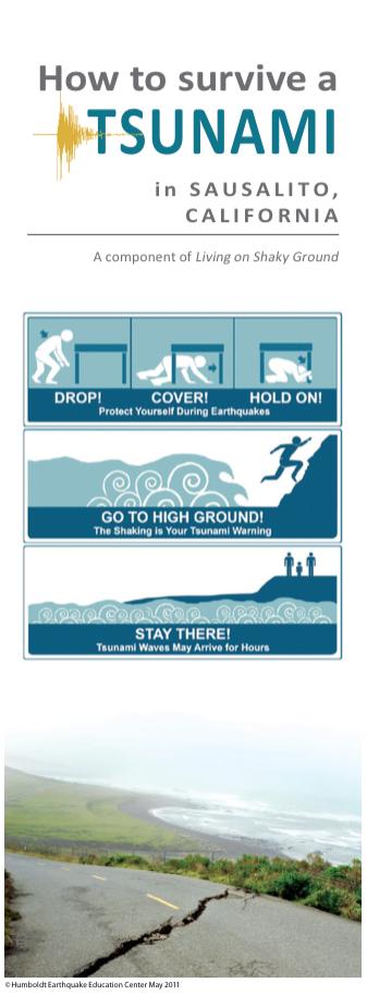 Sausalito Tsunami Brochure